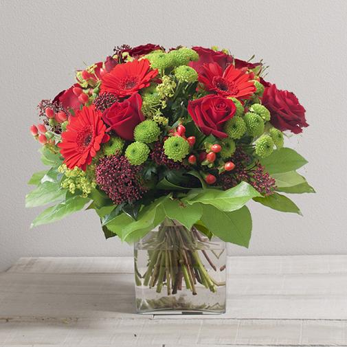 Bouquet de fleurs Sensation