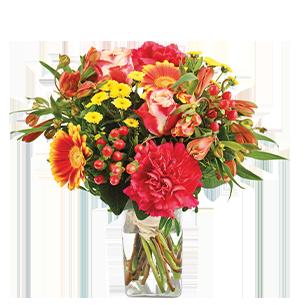 Bouquet de fleurs Tutti frutti Pâques