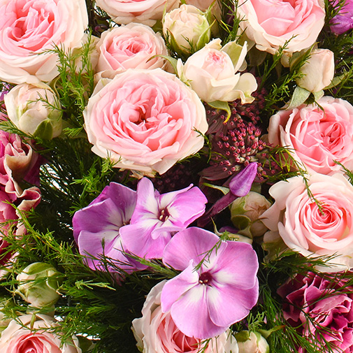 Bouquet de fleurs Velours