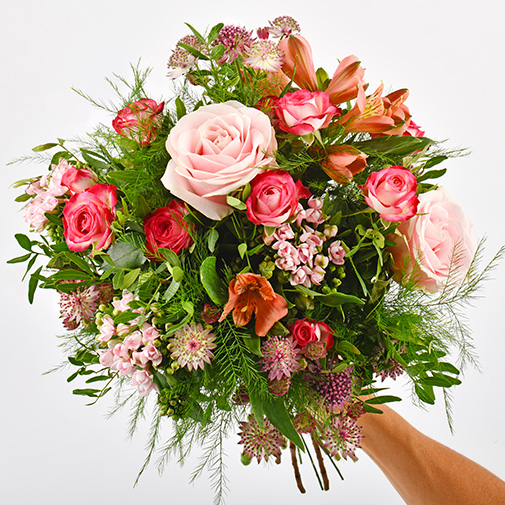 Bouquet de fleurs Vénus