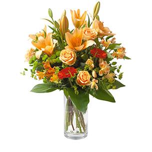 Bouquet de fleurs Voyage Retraite