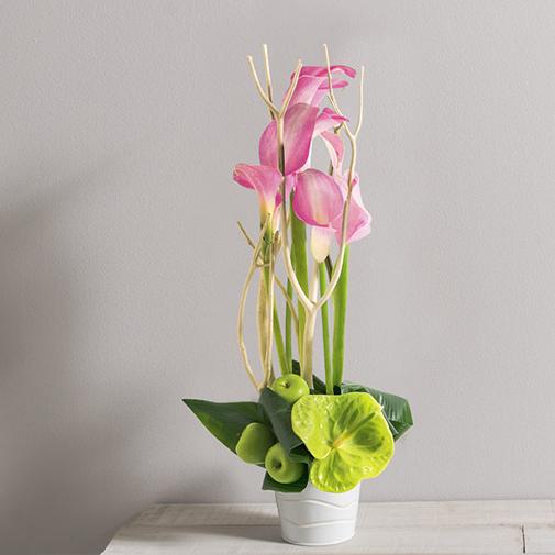 Composition florale Caprice