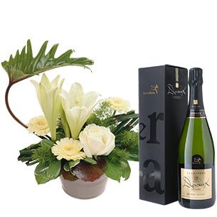 Chou et son champagne - interflora