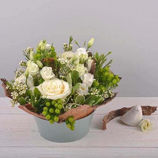 Composition florale Cocon