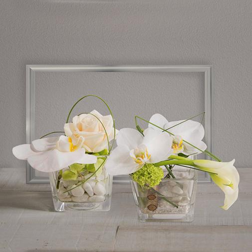 Composition florale Duo zen