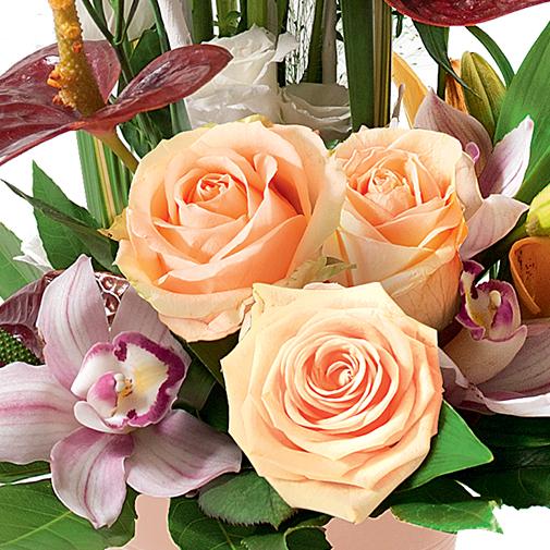 Composition florale Festival
