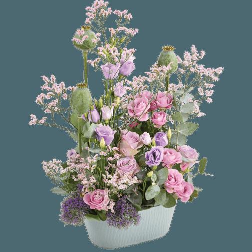 Composition florale Sentimental'O