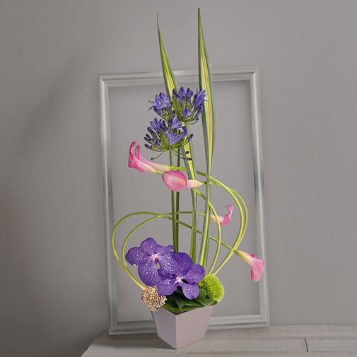 Composition florale Swing