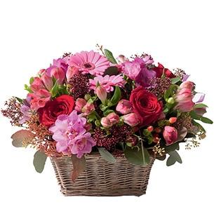 Composition florale composition de fleurs et plantes - Composition florale anniversaire ...