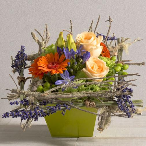 Composition florale Zest