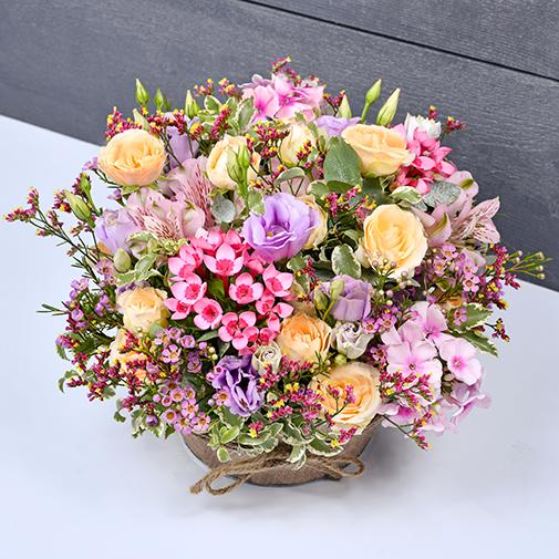 Composition florale Zeste tendre