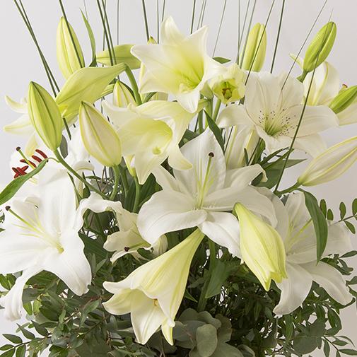 Composition florale Délice