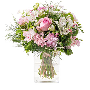 Composition florale Rosa Cadeau Mariage