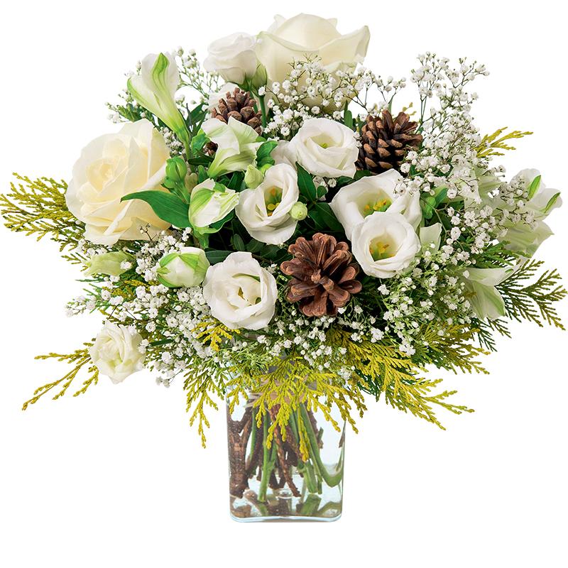 Bouquet de fleurs Flocon