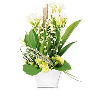 Fleurs livraison de fleurs domicile interflora for Muguet livraison domicile