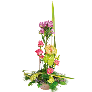 Fleurs deuil Prélude
