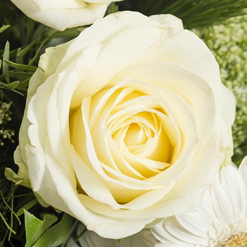 Fleurs deuil Etoile