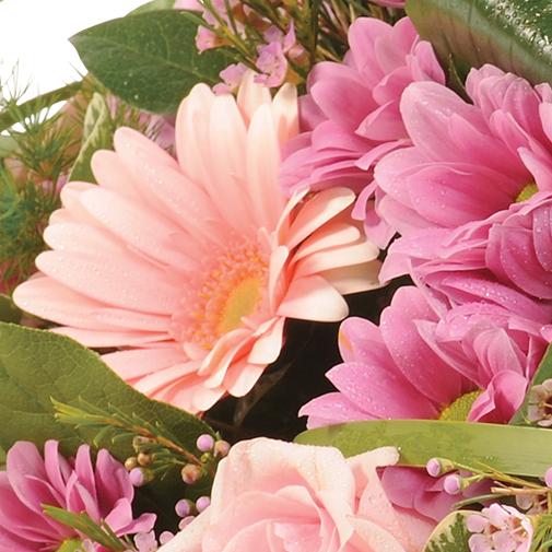 Fleurs deuil Affection