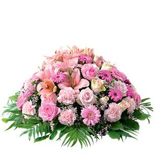 Fleurs deuil Pure rose Deuil
