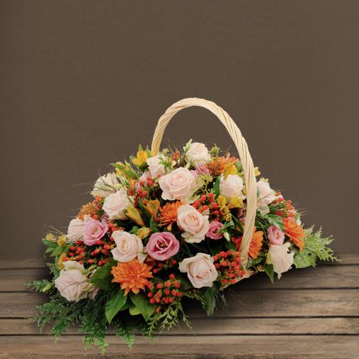 Fleurs deuil Acanthe