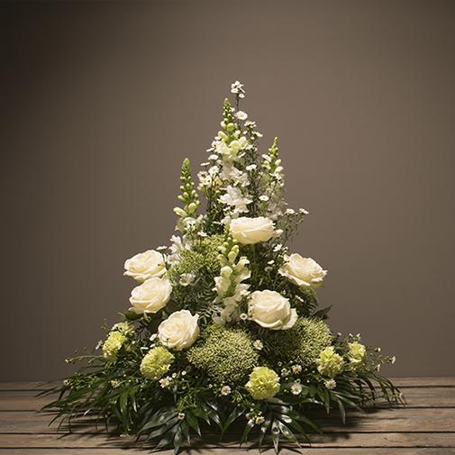 Fleurs deuil Elégance