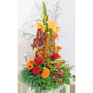 Fleurs deuil Atrium Deuil