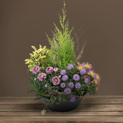 Fleurs deuil Bosquet