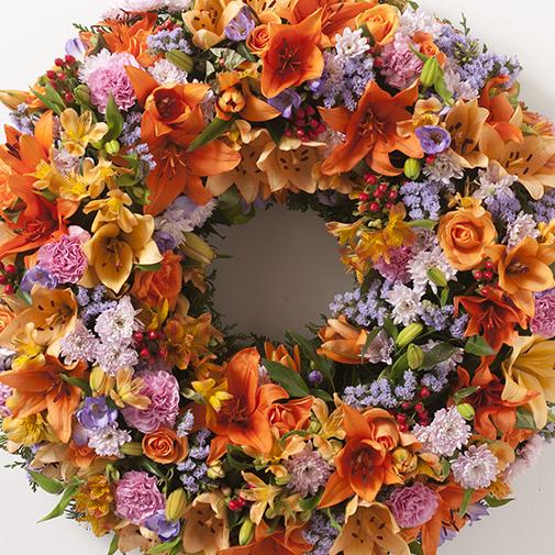 Fleurs deuil Tradition