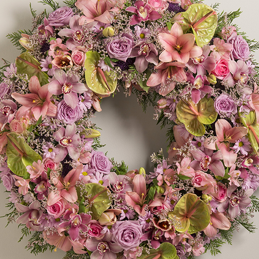Fleurs deuil Trinité