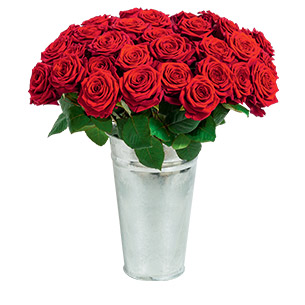 Fleurs deuil Roses du dernier adieu