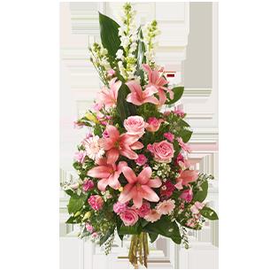 Fleurs deuil Hommage Toussaint
