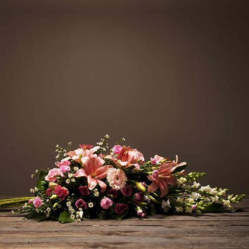 Fleurs deuil Hommage