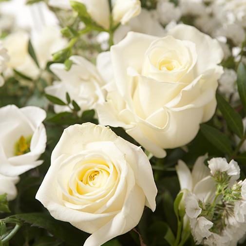 Fleurs deuil Cérémonie