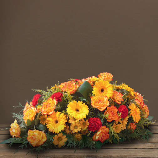Fleurs deuil Hélios