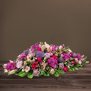 Fleurs deuil Plénitude Deuil
