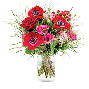 livraison fleurs bouquet saint valentin interflora. Black Bedroom Furniture Sets. Home Design Ideas