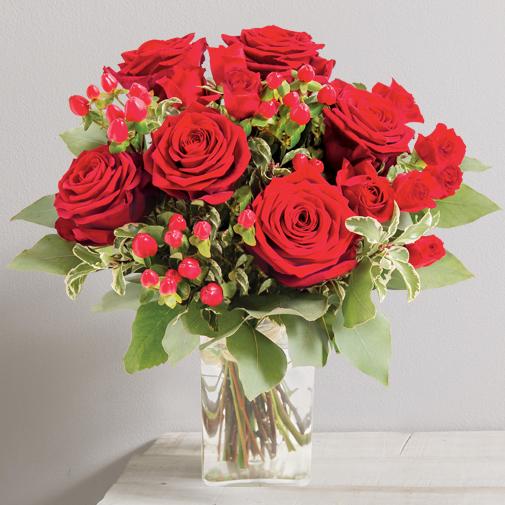 Bouquet de fleurs Fougue