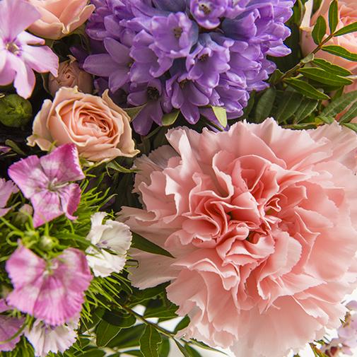 Fleurs et cadeaux Brin de tendresse et sa bougie parfumée