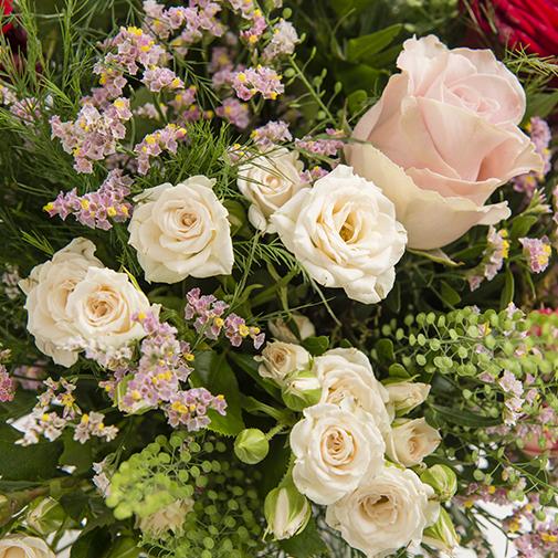 Fleurs et cadeaux Bouquet de l'amour & champagne Devaux