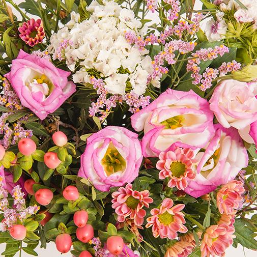 Fleurs et cadeaux Chanson douce et son écrin d'amandes gourmandes