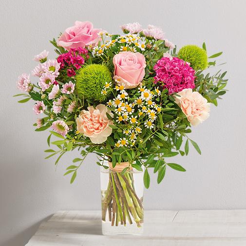 Bouquet de roses Tendre bisou