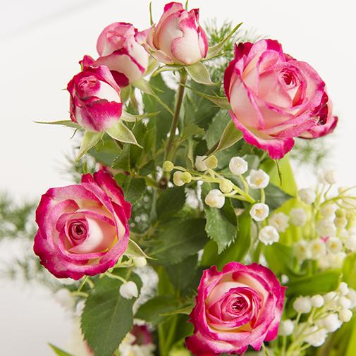 Composition florale Clochette