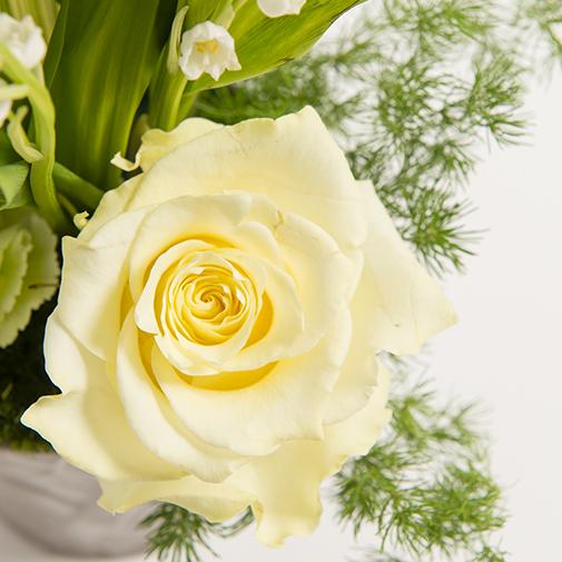 Bouquet de fleurs Gri-Gri et ses chocolats