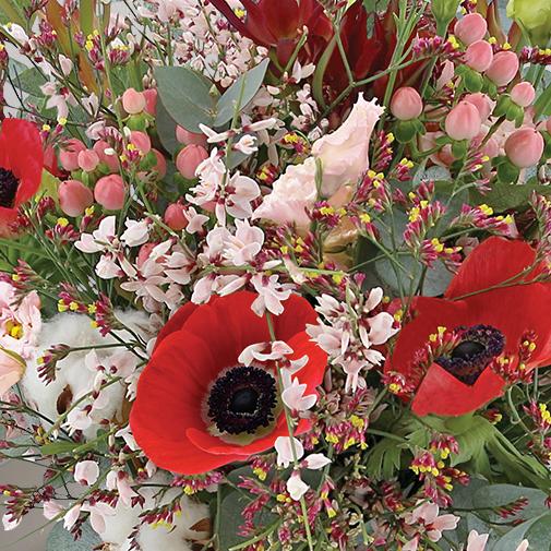 Fleurs et cadeaux Esprit de fête et son champagne Devaux Interflora
