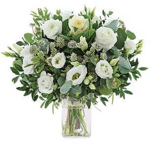 Bouquet de fleurs Etoile des neiges Noël