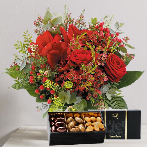 Fleurs et cadeaux Amoureux et ses amandes gourmandes