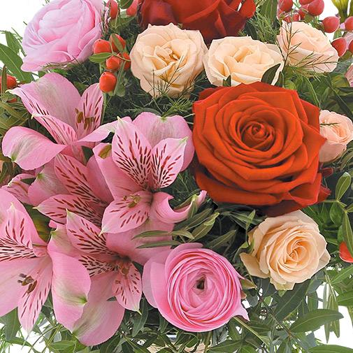Bouquet de fleurs My Valentine