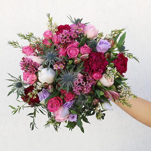 Bouquet de fleurs Mamie chérie