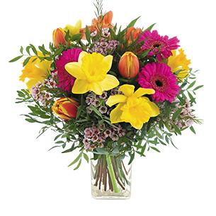 Bouquet de fleurs Parfum d'enfance Fleur jaune
