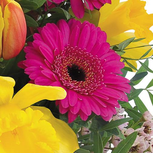 Bouquet de fleurs Parfum d'enfance et ses douceurs gourmandes